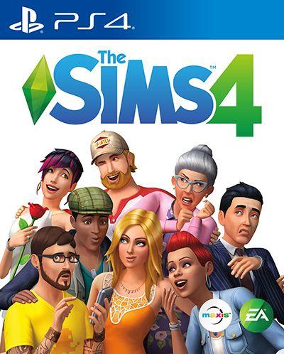 Игра The Sims 4 (PS4, русская версия)