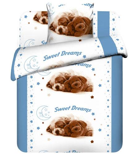"""Детское постельное белье """"Сладкие сны"""", рис.5421."""