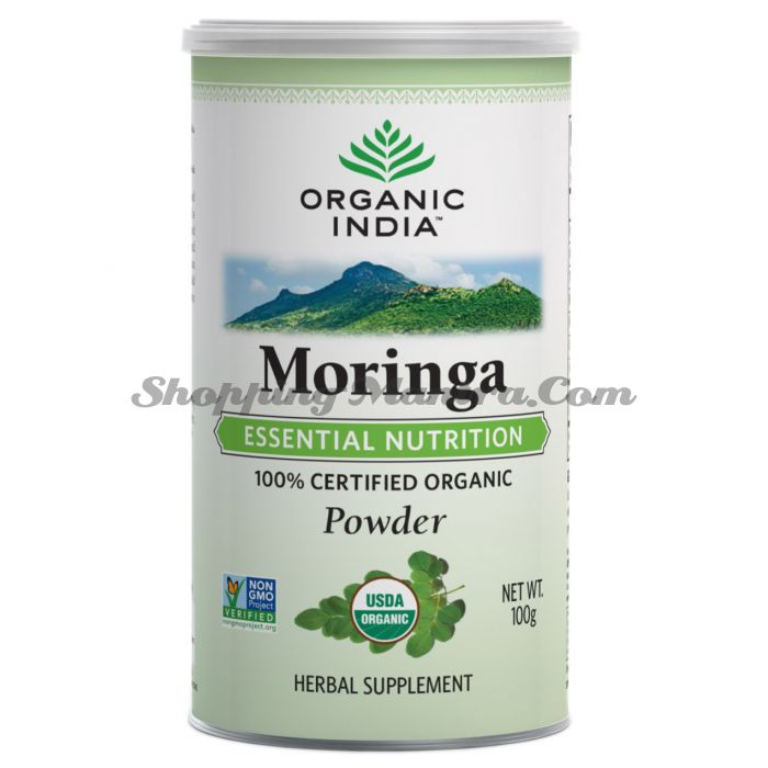 Моринга порошок Органик Индия | Organic India Moringa Powder