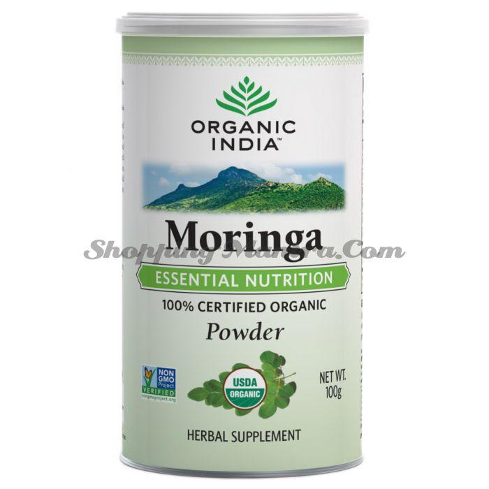 Моринга порошок Органик Индия   Organic India Moringa Powder