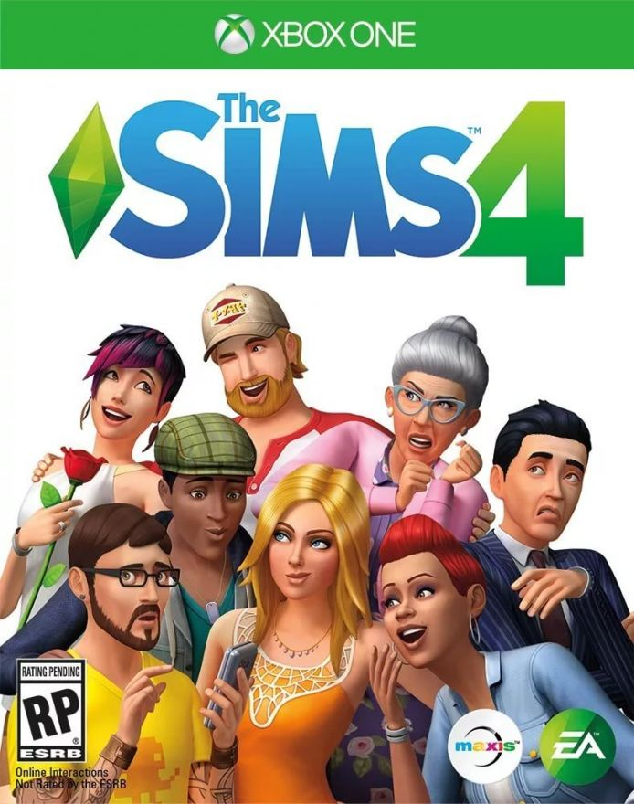 Игра The Sims 4 (Xbox One, русская версия)