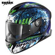 Шлем Shark Skwal 2 Switch Rider 2, Синий