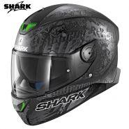 Шлем Shark Skwal 2 Switch Rider 2, Серый матовый