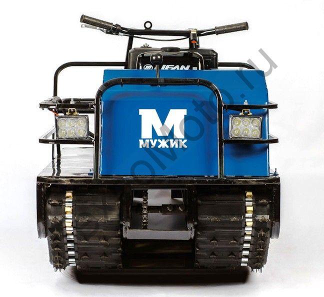 Мотобуксировщик Мужик К2-17