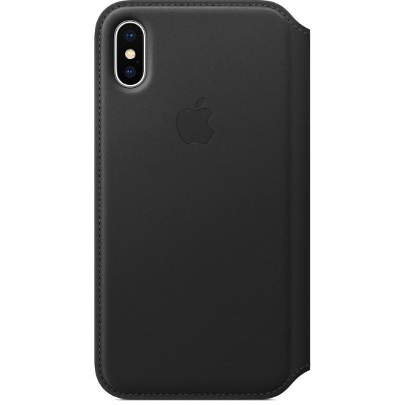 Чехол iPhone X/Xs Apple Leather Smart Case