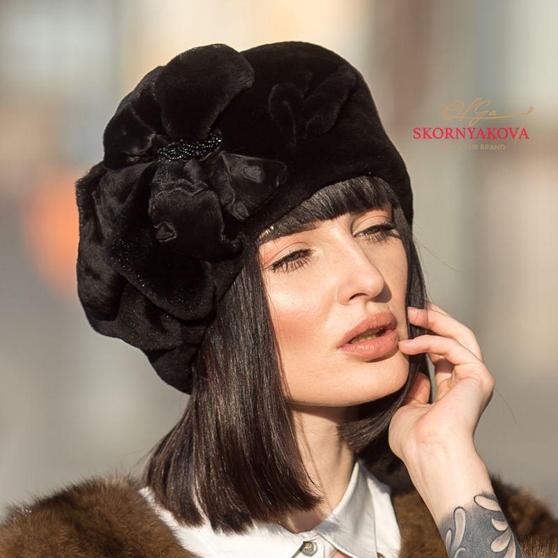 "Кубанка из норки ""Асимметрия"""