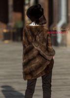 Авторская куртка из соболя автоледи пошив Москва