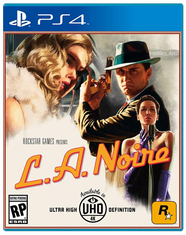 Игра L.A. Noire (PS4, русская версия)