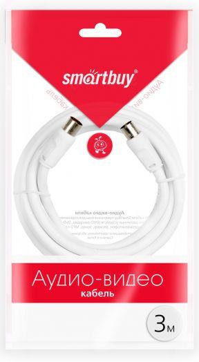 Антенный кабель Smartbuy, разъемы M-F,  длина 3,0 м (KTV233)