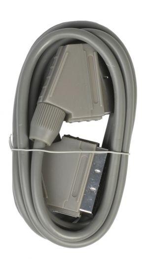 Кабель SCART - SCART, 1,8 m, в пакете Smartbuy