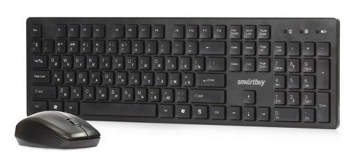 Клавиатура+мышь беспроводной набор Smartbuy SBC-120333AG черный
