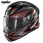Мотошлем Shark Skwal 2 Draghal,  Черно-красный
