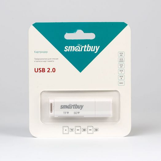 Картридер Smartbuy SBR-715-W (белый)