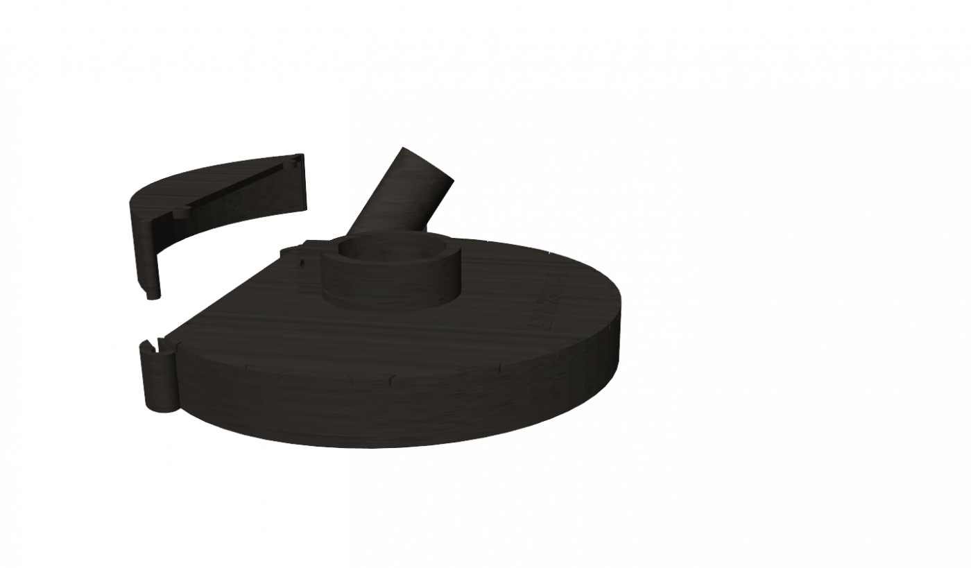 Кожух для шлифовки под болгарку DeWalt AVA 230D-1PRO