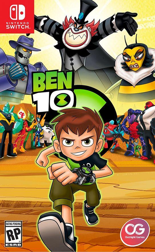 Игра Ben 10 (Nintendo Switch)