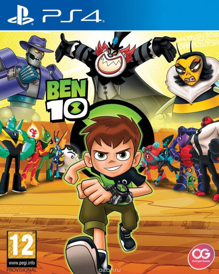 Игра Ben 10 (PS4)