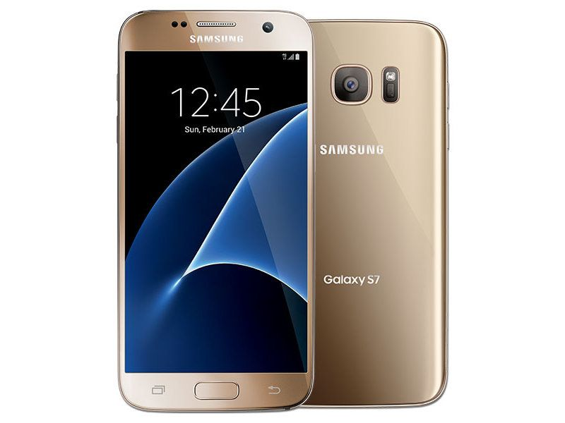Смартфон Samsung Galaxy S7 32Gb LTE Gold
