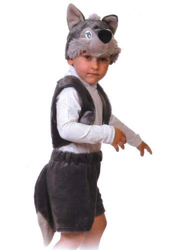 """Костюмчик карнавальный """"Волчонок"""" для мальчика 3-5 лет КК003002"""