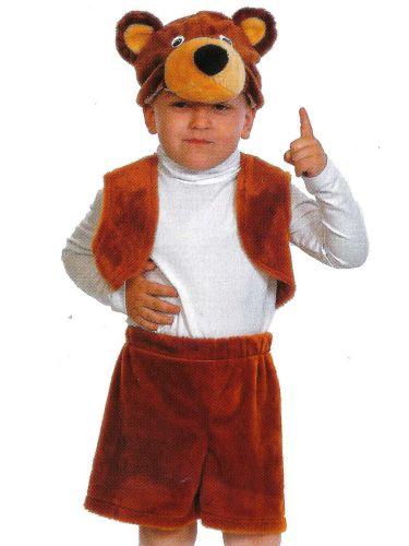 """Костюмчик карнавальный """"Мишка-бурый"""" для мальчика 3-5 лет КК003010"""
