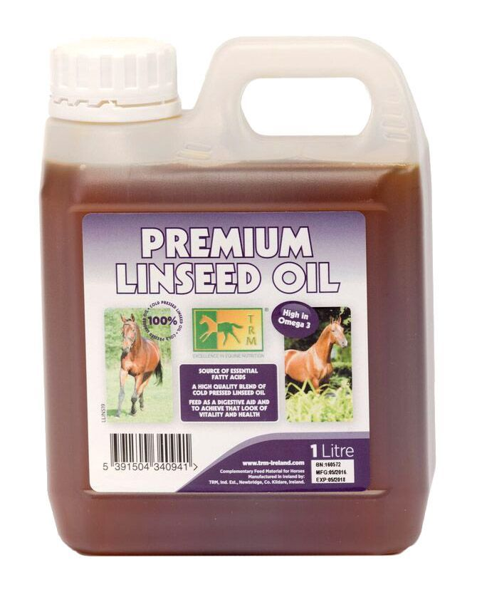 Льняное масло. TRM. 1 литр