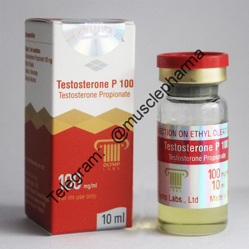 TESTOSTERONE P 100 (ПРОПИОНАТ).  OLYMP. 1 флакон * 10 мл.