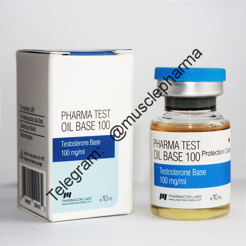 PHARMA TEST 100 OIL BASE (PHARMACOM LABS). 100mg/ml 10ml * 1 флакон