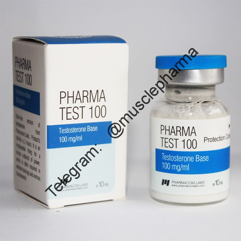 PHARMA TEST 100 BASE (PHARMACOM LABS). 100mg/ml 10ml * 1 флакон