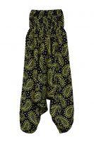 Индийские штаны алладины с пейсли оптом