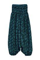 Индийские штаны алладины с рисунком пейсли, купить оптом