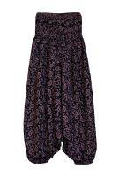 Индийские штаны алладины с орнаментом пейсли, купить оптом