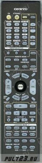 ONKYO RC-687M, TX-NA906, TX-NR905, TX-NR906
