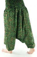 Индийские хлопковые штаны алладины спиральки, купить оптом