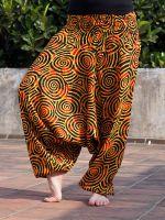 Индийские штаны алладины из хлопка, купить оптом