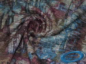 Трикотаж меланж принт с люрексом 9569/D9/C#1