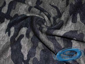 Трикотаж меланж принт с люрексом 9569/D15/C#1