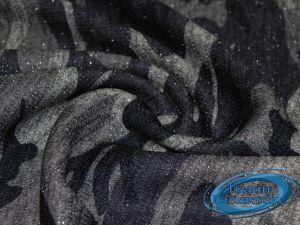 Трикотаж меланж принт с люрексом 9569/D15/C#2