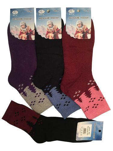 Носки женские махровые №473