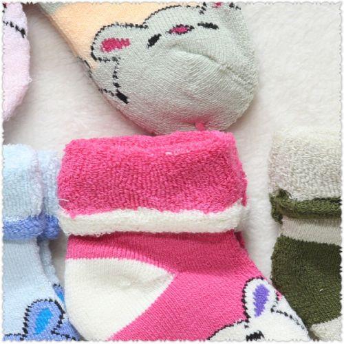 Носки детские махровые  МАЛЮТКА( 0-12мес)-22руб