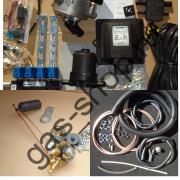 Полный к-кт ГБО LOVATO SMART EXR 4 цил., инжекторный впрысковой (без баллона и крепежа к нему) - до 160 л.с.
