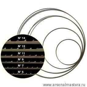 Полотно для ленточной пилы Pegas N14  М00012498