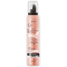 BB Пена для волос Совершенная укладка суперсильной фиксации 12 эффектов 200мл