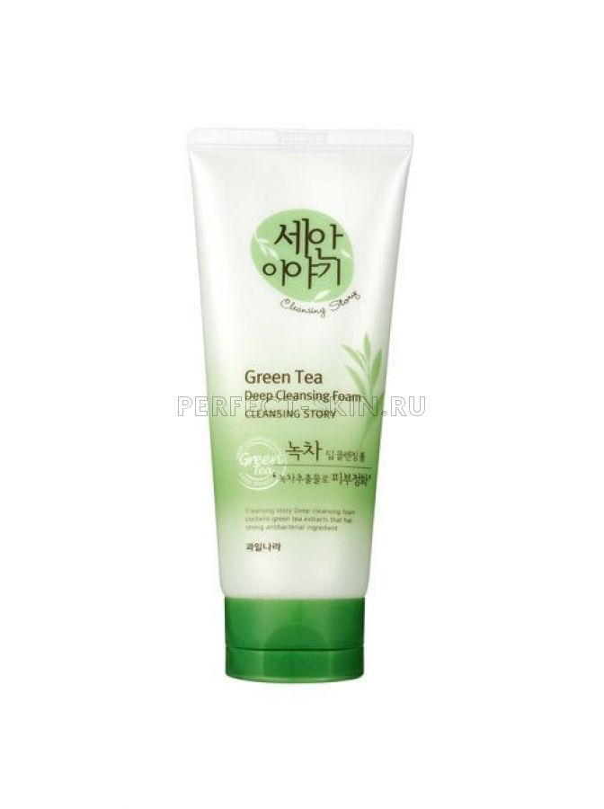 Welcos Cleansing Story Foam Cleansing (Green Tea)