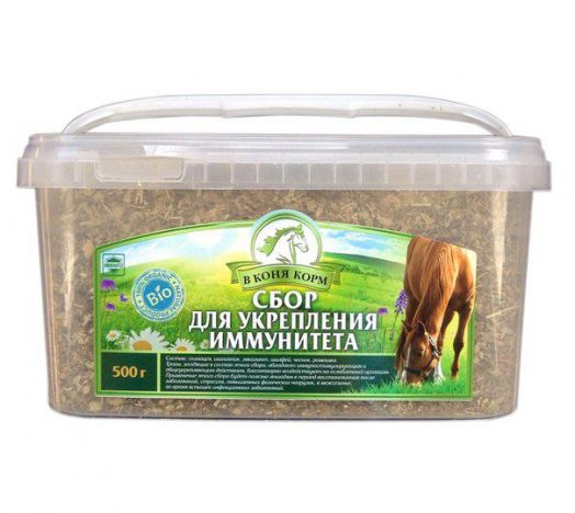 "Сбор Для укрепления иммунитета ""В коня корм"" 500 гр"