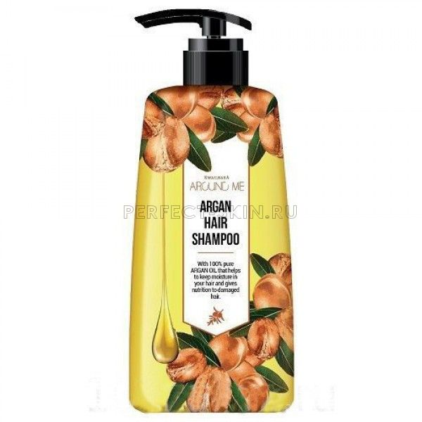 Welcos Argan Around me Argan Hair Shampoo