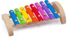 Деревянный ксилофон, 8 тонов