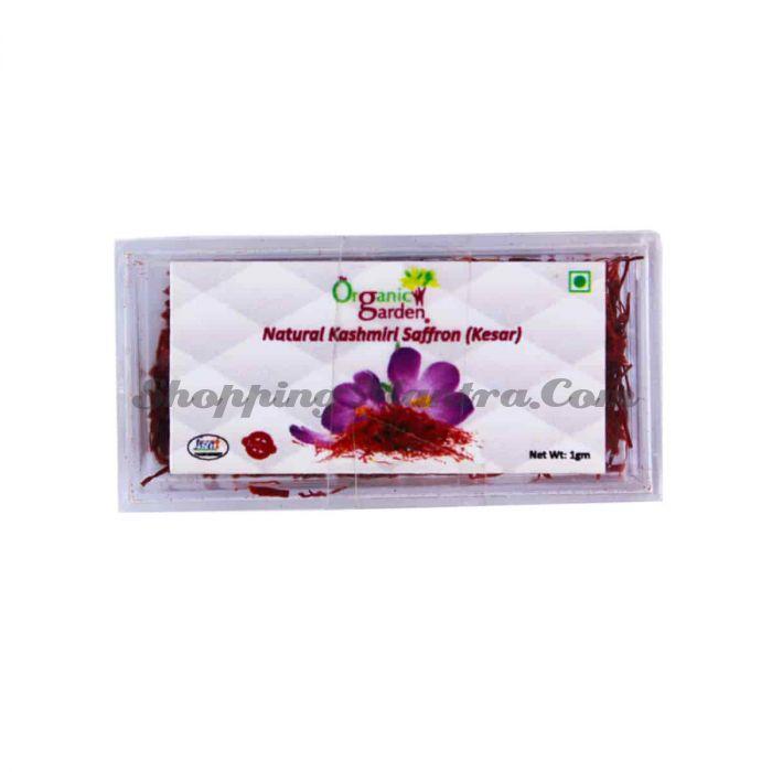 Шафран кашмирский (тычинки) Органик Гарден   Organic Garden Natural Kashmiri Saffron