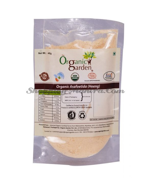 Асафетида (хинг) Органик Гарден | Organic Garden Organic Asafoetida (Hing)