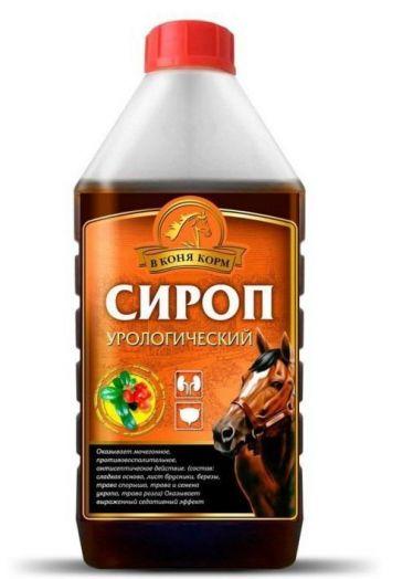 """Сироп Урологический """"В коня корм"""" 1 литр"""