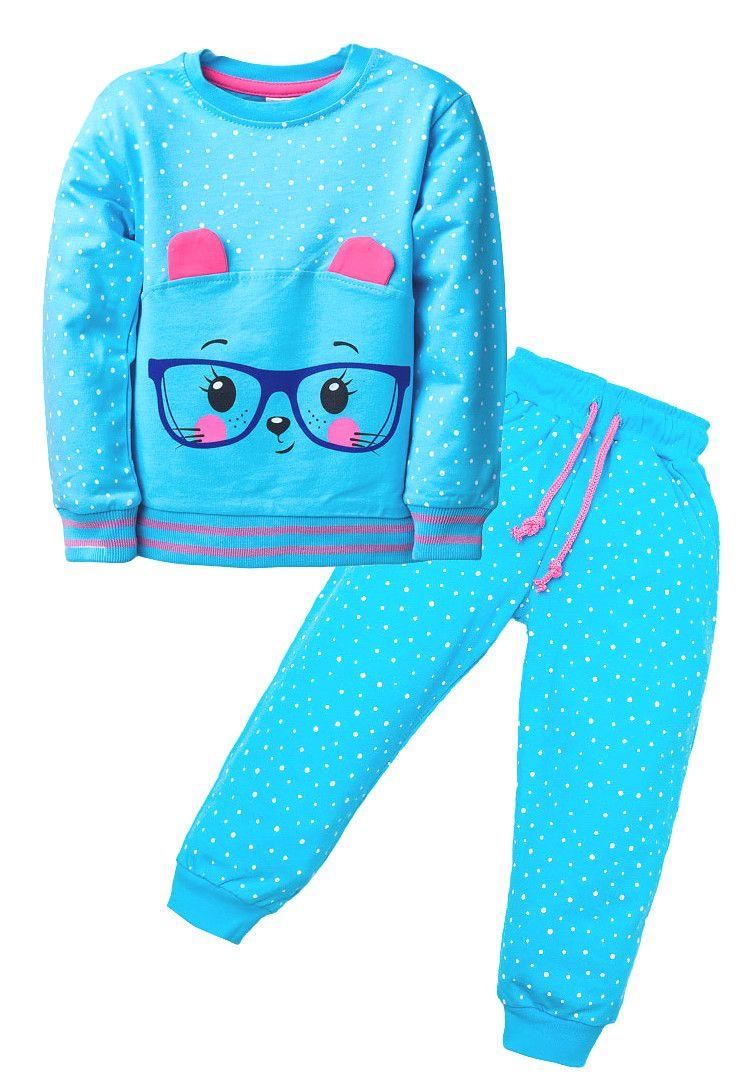 Комплект для девочки Киска в очках