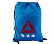 Мешок для обуви синий Reebok Drawstring Gym Sack AY0526